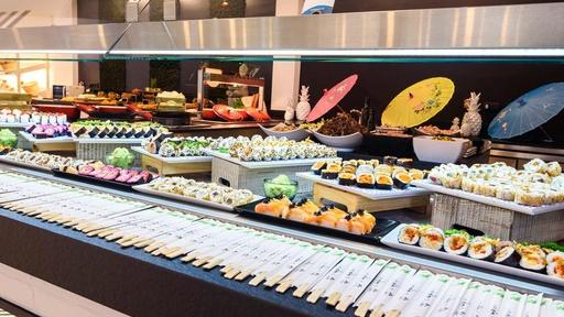 buffet de Playa Garden Selection con el Todo Incluido Platinum