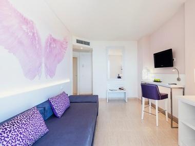 Habitación Superior Vista Mar Lateral | Tropic Garden Hotel & Apartments