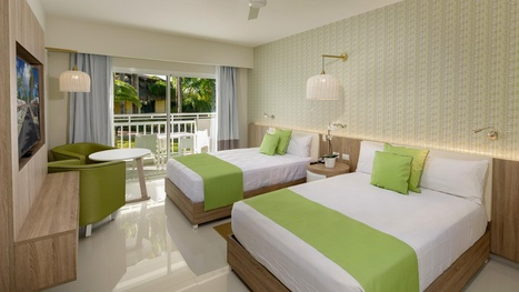 Sirenis Punta Cana Resort República Dominicana habitación doble la cama